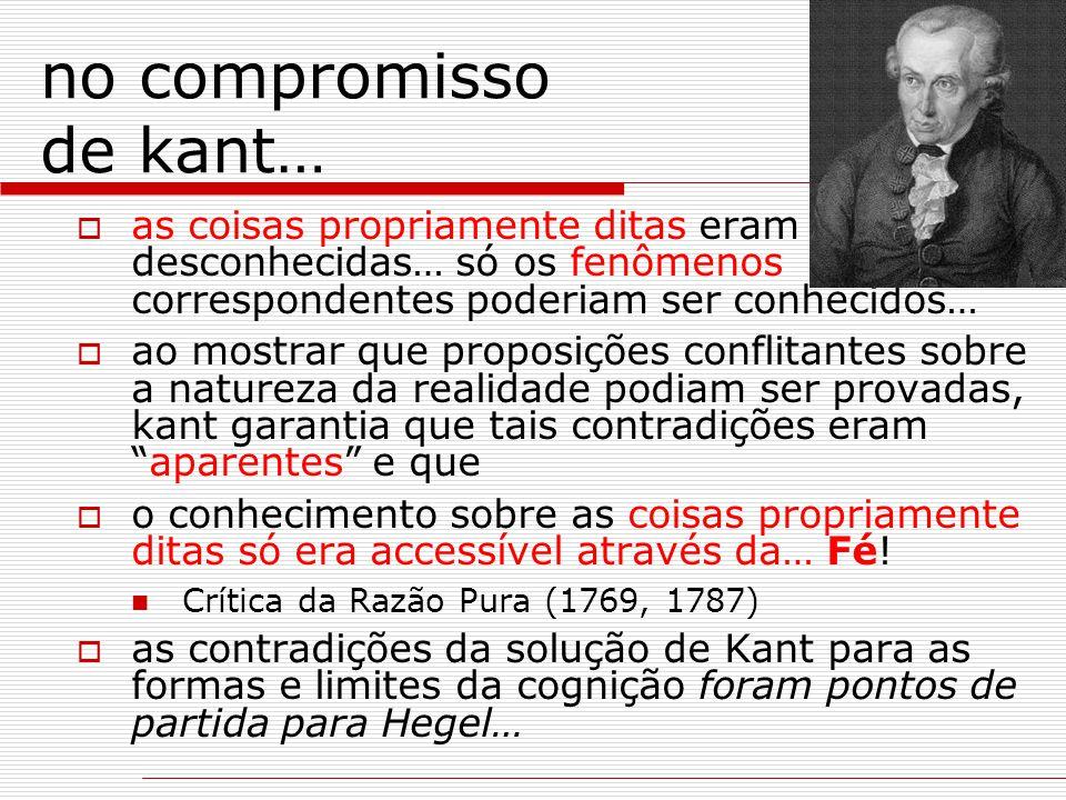 no compromisso de kant…