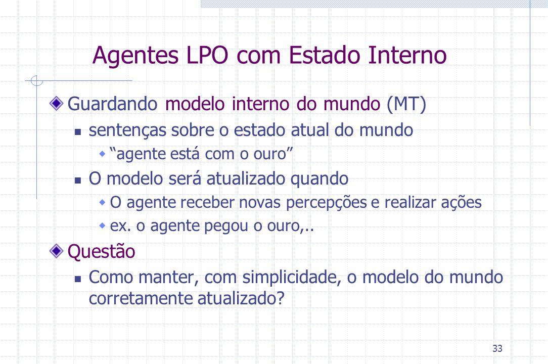 Agentes LPO com Estado Interno