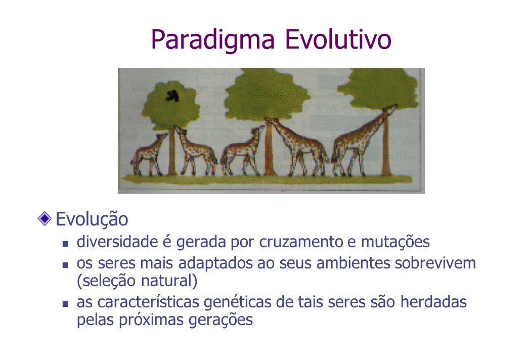Paradigma Evolutivo Evolução