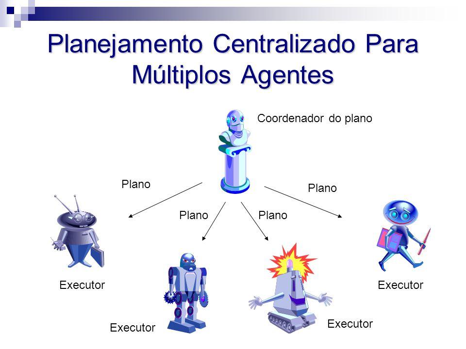 Planejamento Centralizado Para Múltiplos Agentes