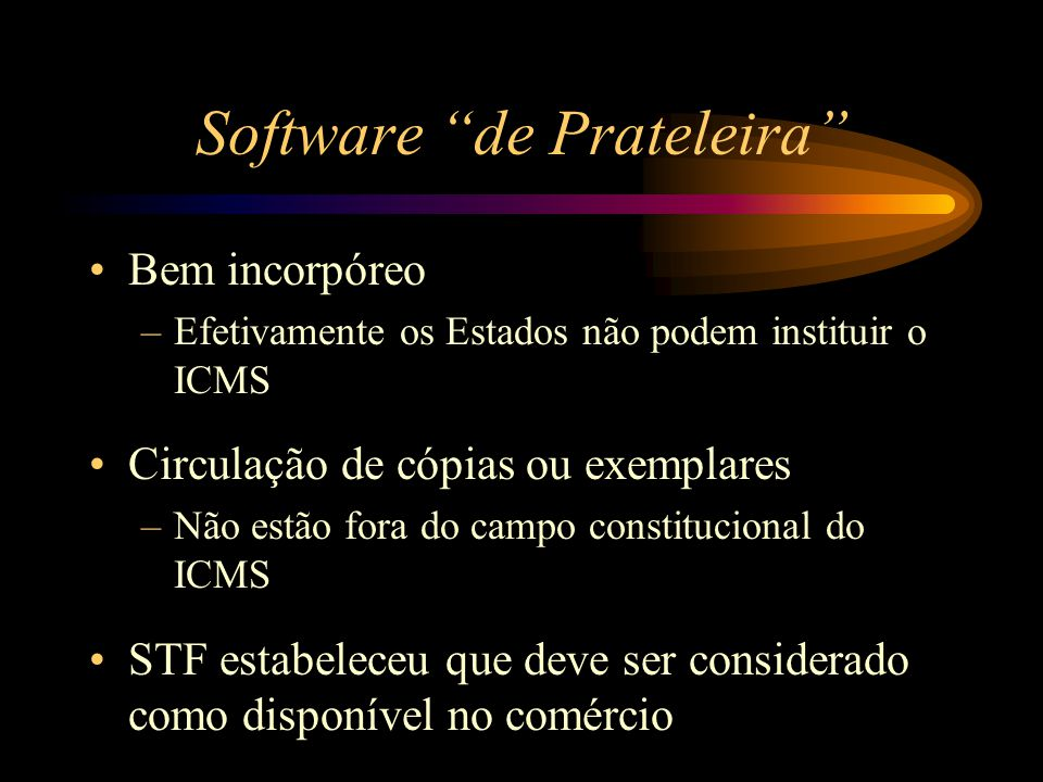 Software de Prateleira