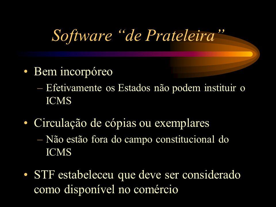 Software de Prateleira