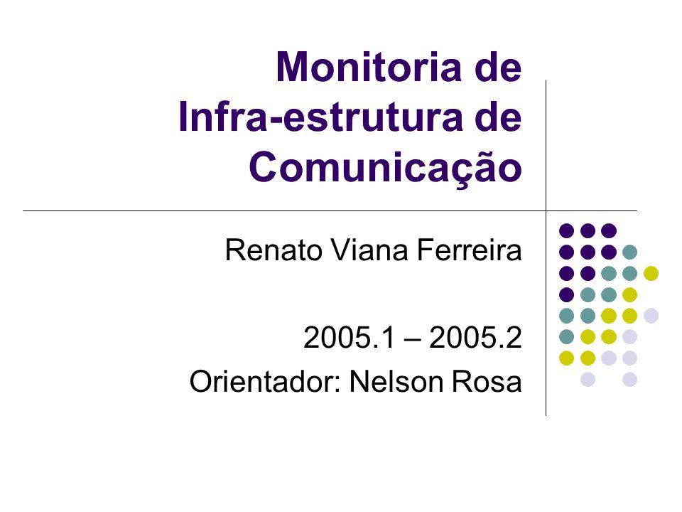 Monitoria de Infra-estrutura de Comunicação