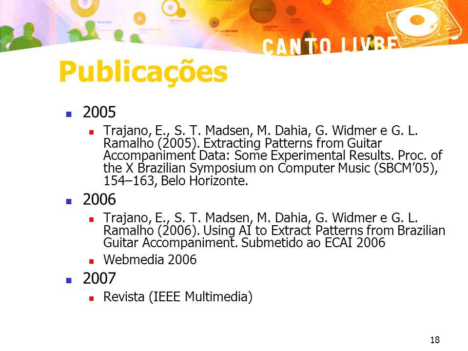 Publicações 2005.