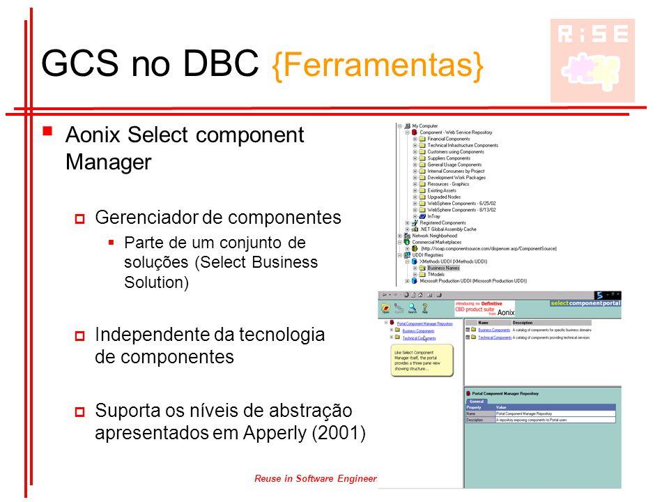 GCS no DBC {Ferramentas}