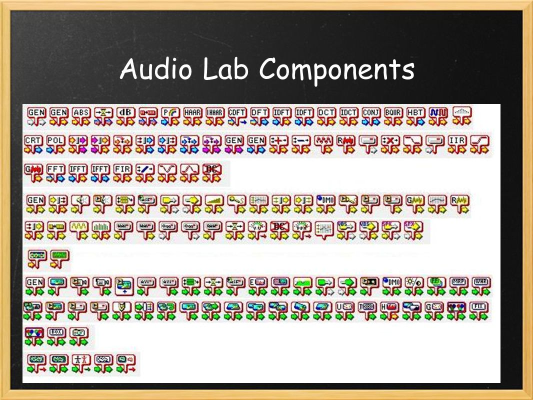 Audio Lab Components