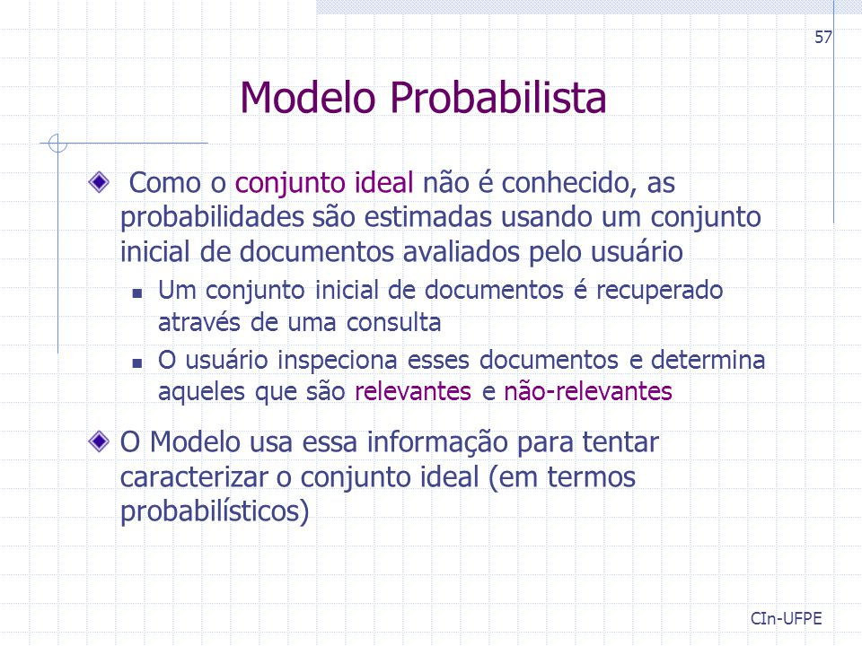 Modelo Probabilista