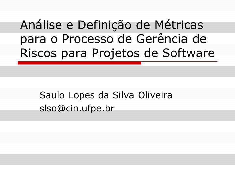 Saulo Lopes da Silva Oliveira slso@cin.ufpe.br