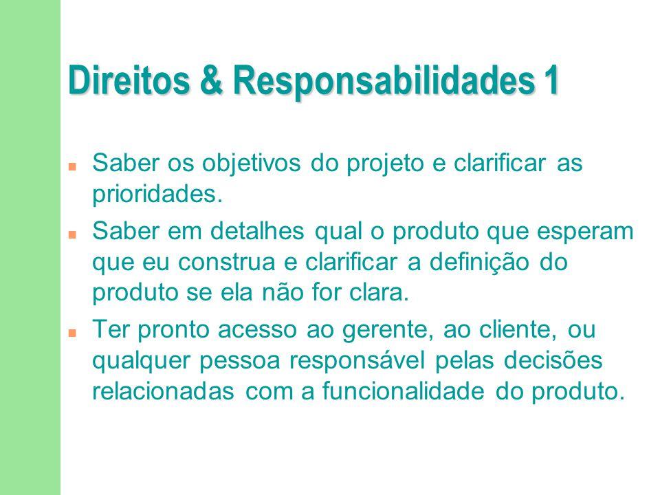 Direitos & Responsabilidades 1