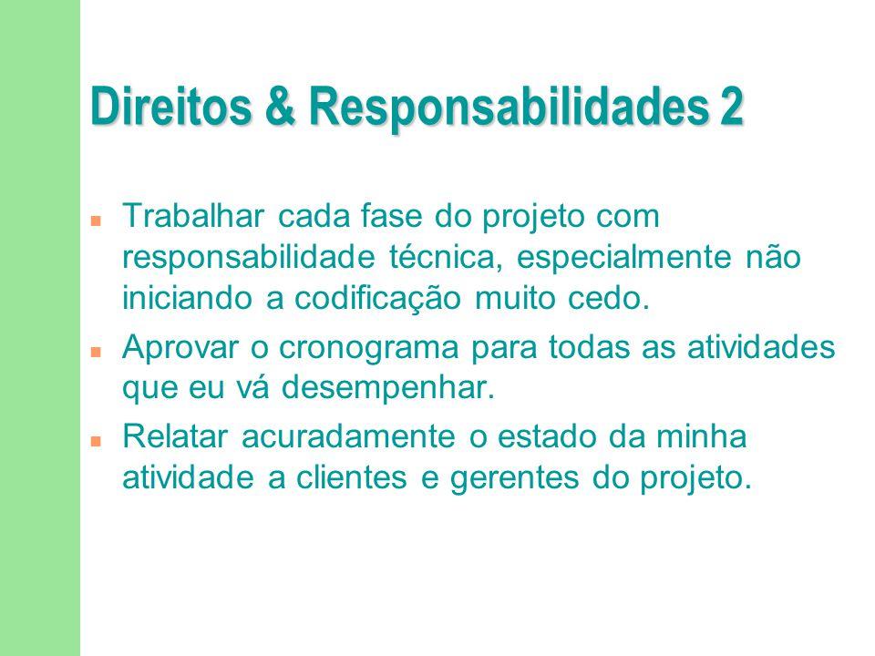 Direitos & Responsabilidades 2