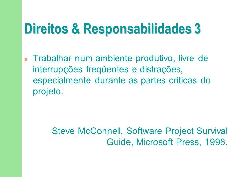 Direitos & Responsabilidades 3