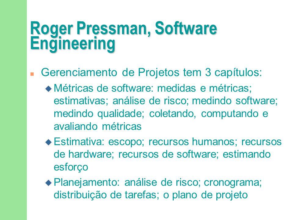 Roger Pressman, Software Engineering