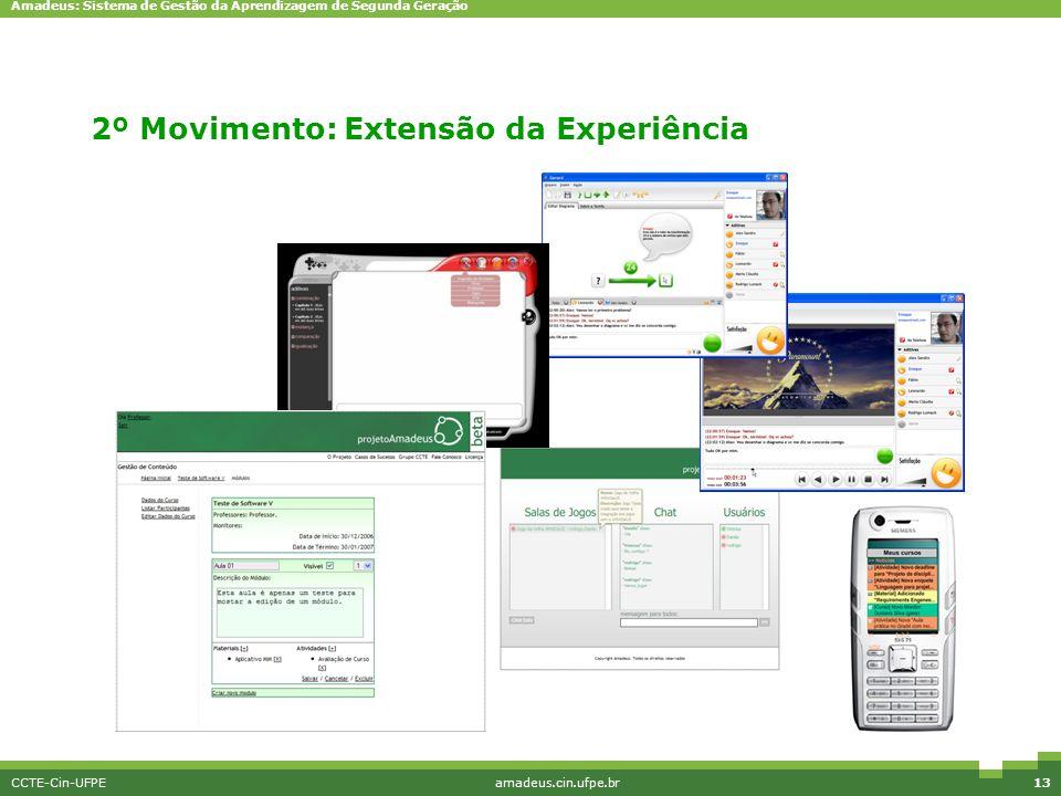 2º Movimento: Extensão da Experiência