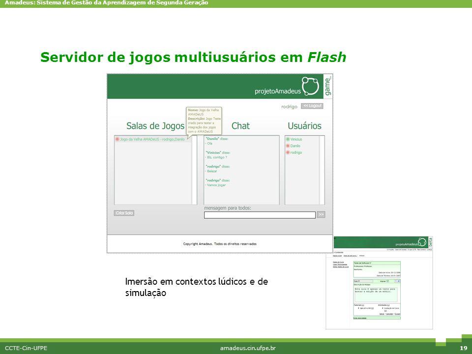 Servidor de jogos multiusuários em Flash