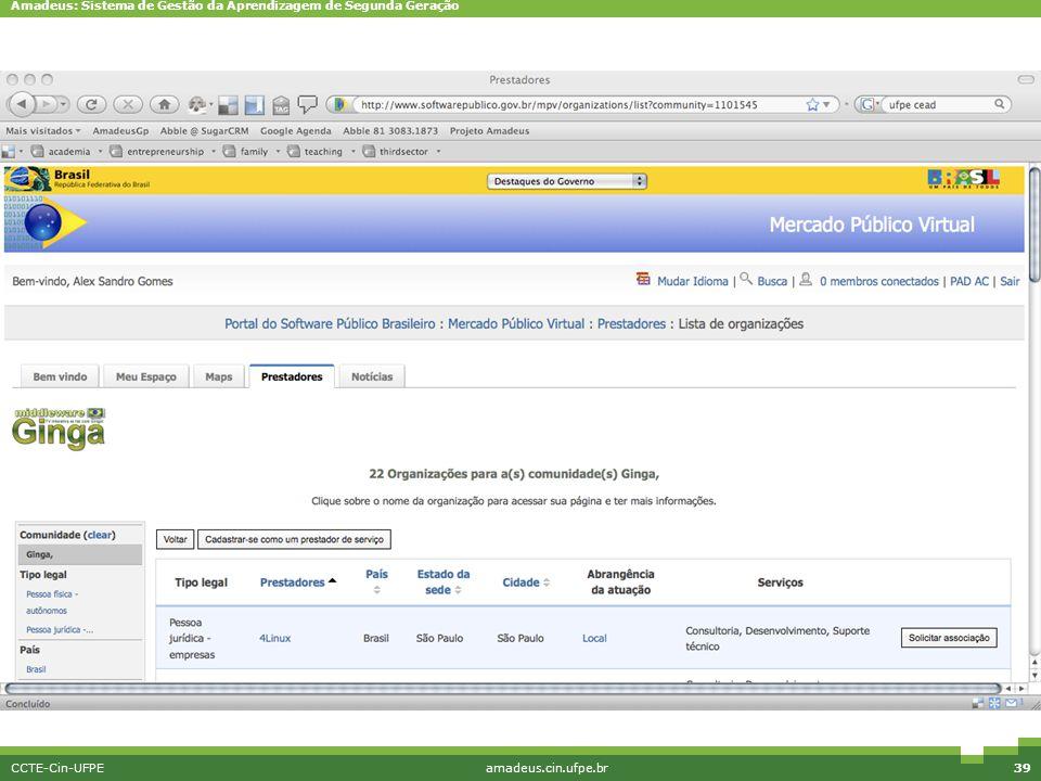 CCTE-Cin-UFPE amadeus.cin.ufpe.br