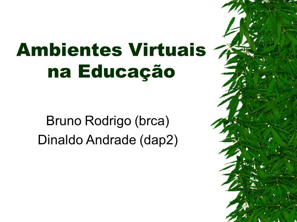 Ambientes Virtuais na Educação