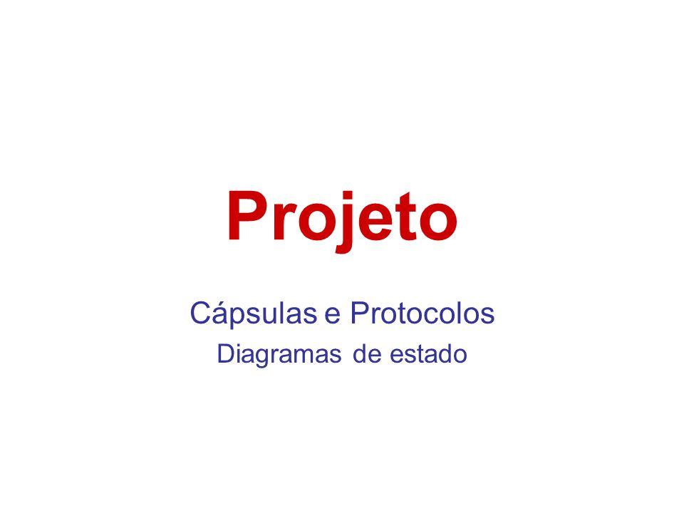 Cápsulas e Protocolos Diagramas de estado