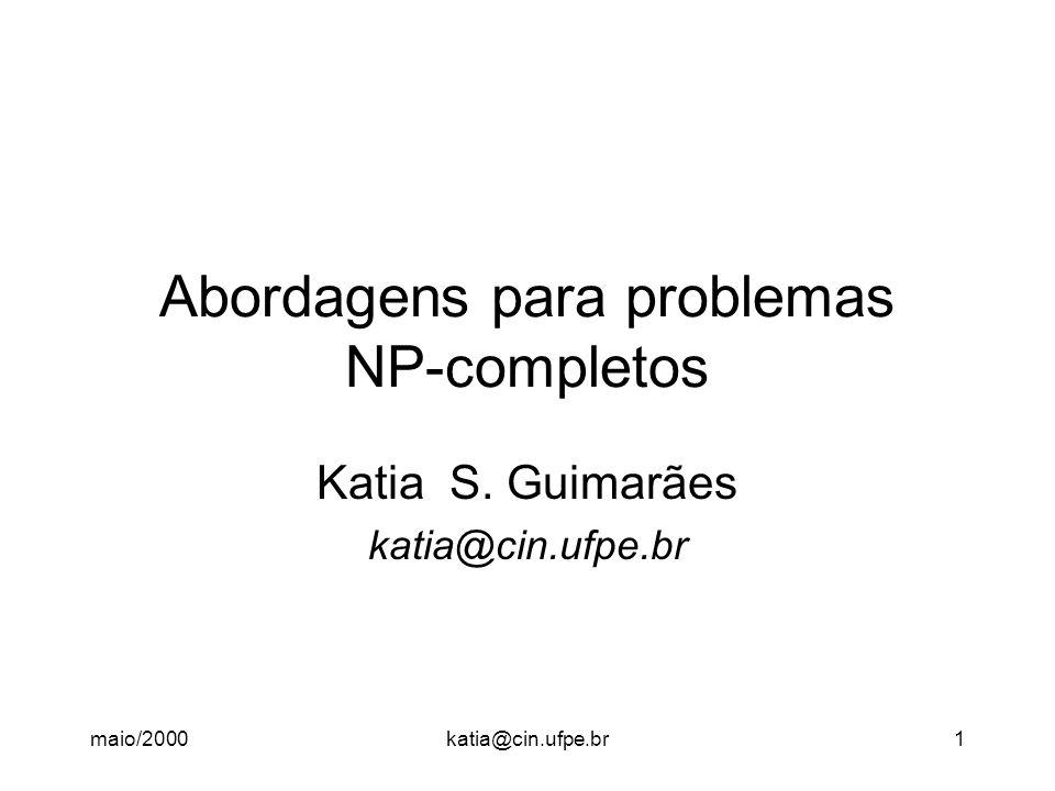 Abordagens para problemas NP-completos