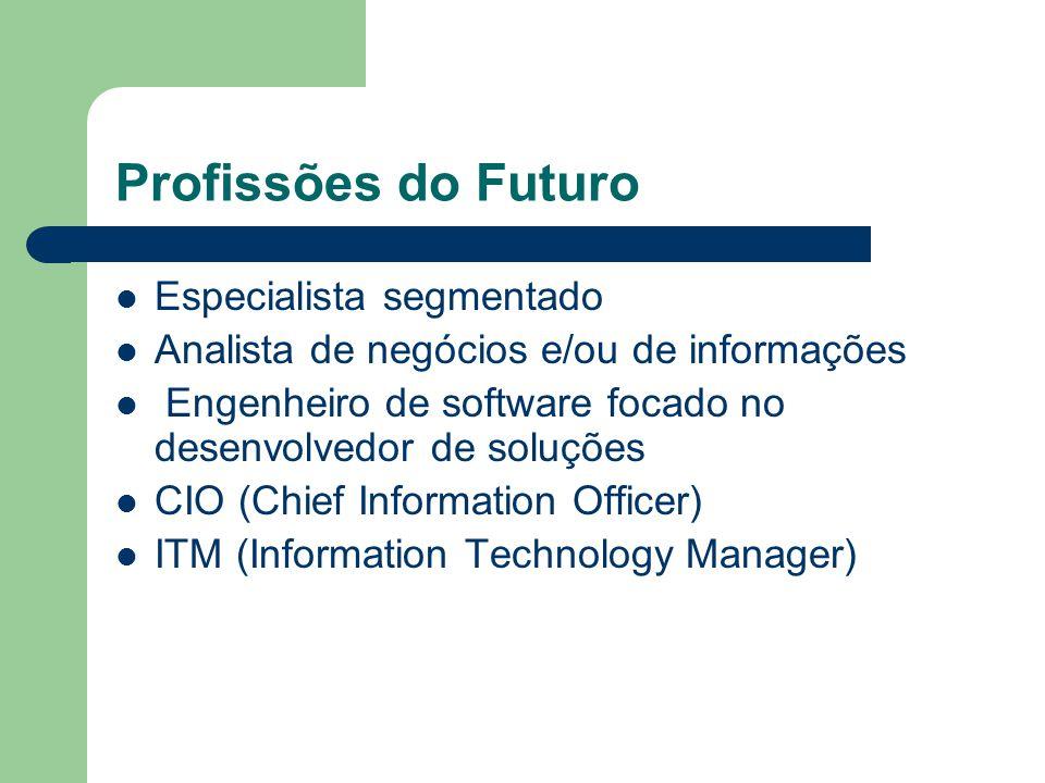 Profissões do Futuro Especialista segmentado