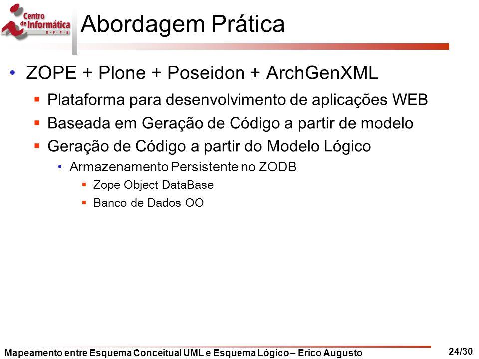 Abordagem Prática ZOPE + Plone + Poseidon + ArchGenXML