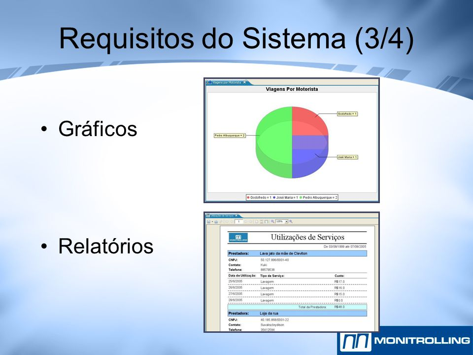 Requisitos do Sistema (3/4)
