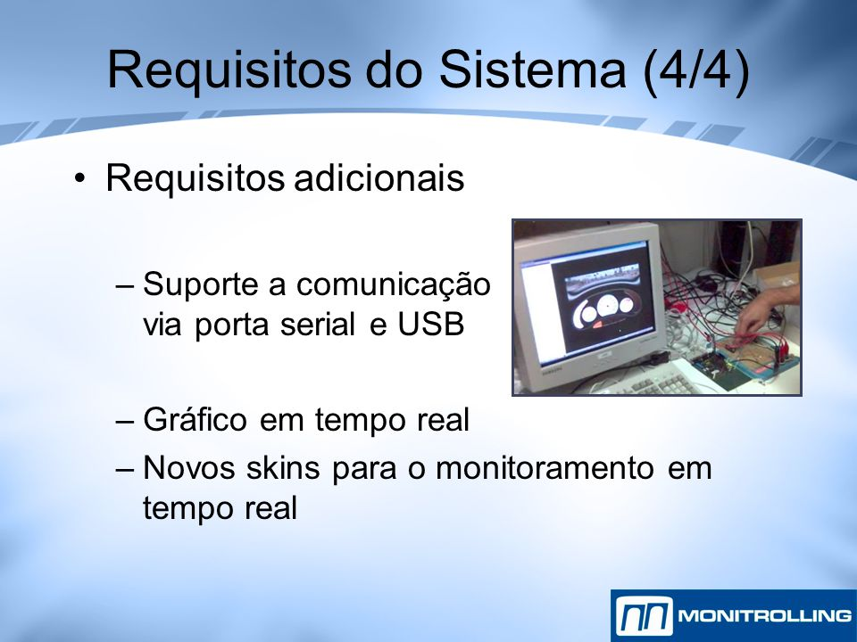 Requisitos do Sistema (4/4)