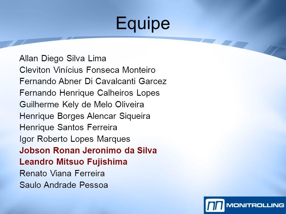 Equipe Allan Diego Silva Lima Cleviton Vinícius Fonseca Monteiro