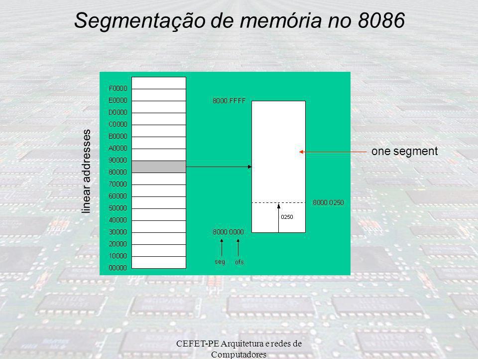 Segmentação de memória no 8086