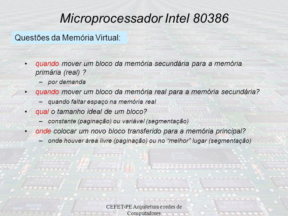 Microprocessador Intel 80386