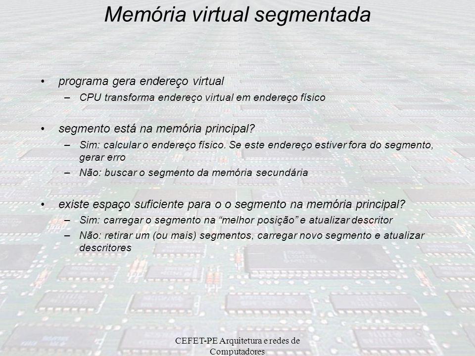 Memória virtual segmentada