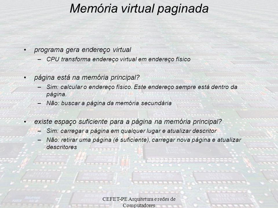 Memória virtual paginada