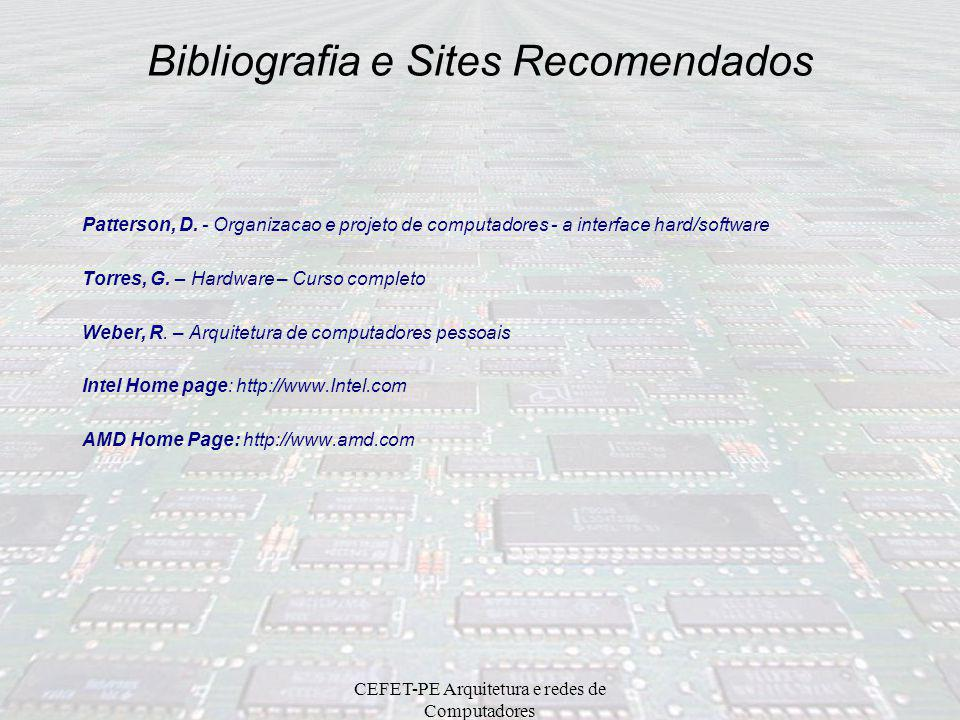 Bibliografia e Sites Recomendados