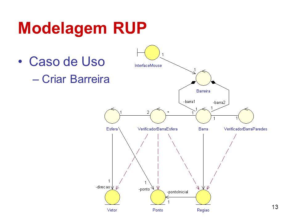Modelagem RUP Caso de Uso Criar Barreira