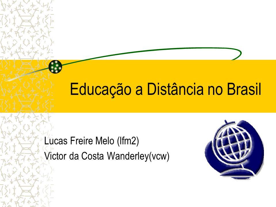 Educação a Distância no Brasil
