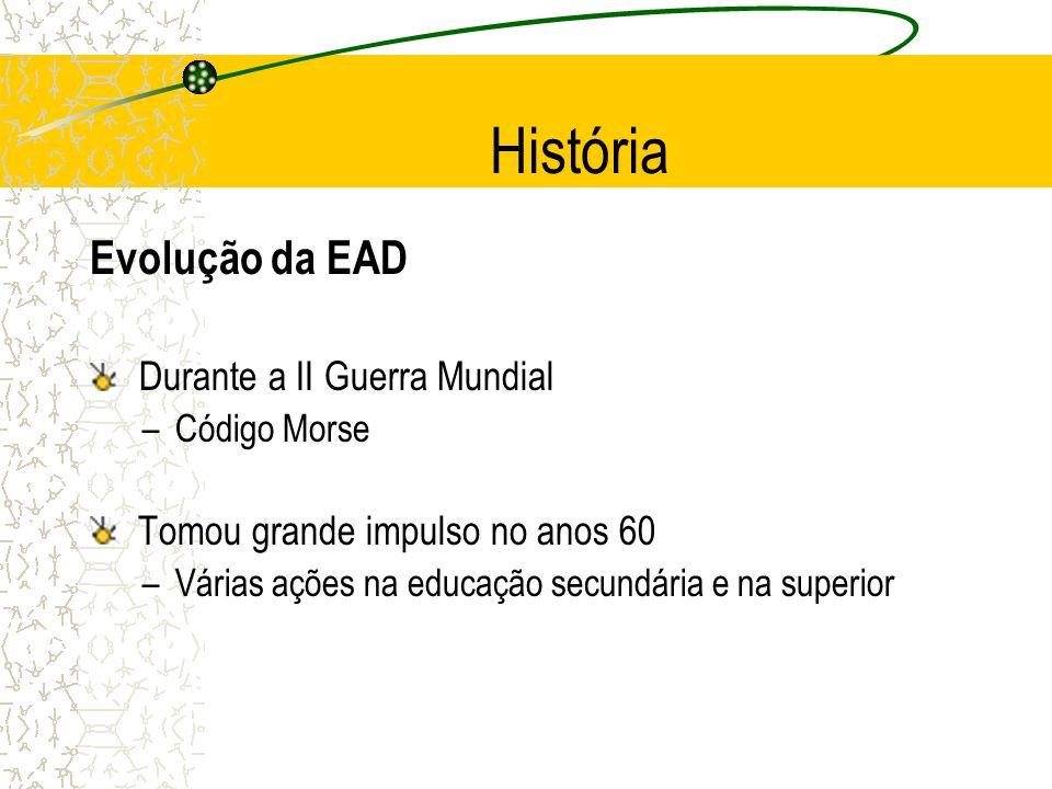 História Evolução da EAD Durante a II Guerra Mundial