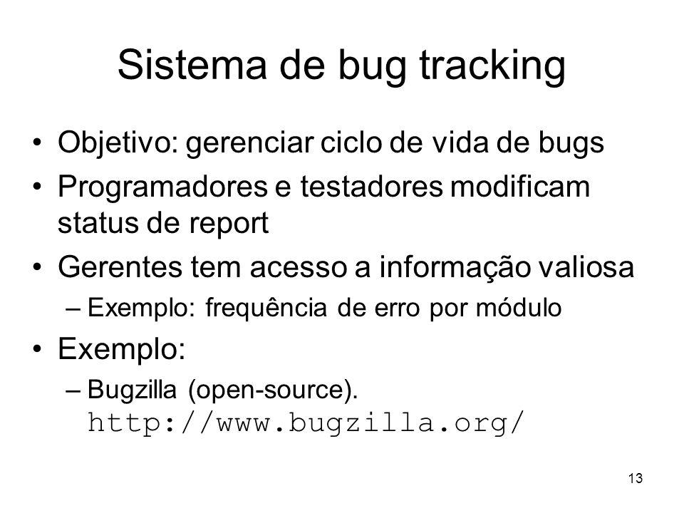 Sistema de bug tracking