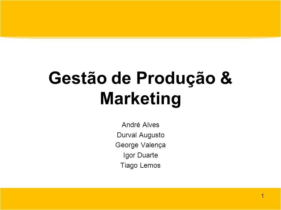 Gestão de Produção & Marketing