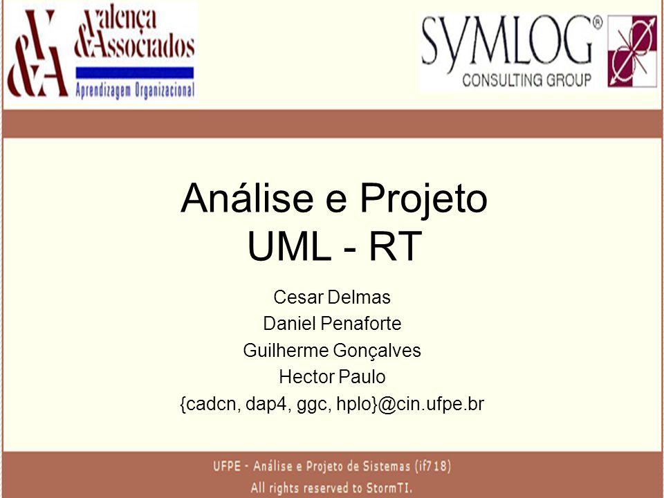 Análise e Projeto UML - RT