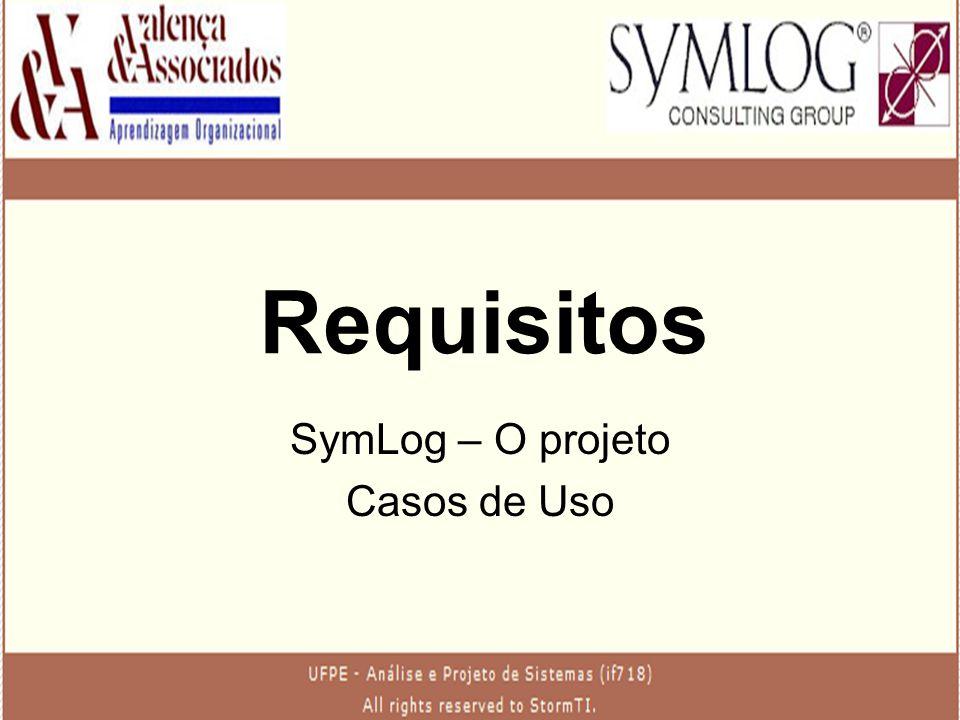 SymLog – O projeto Casos de Uso