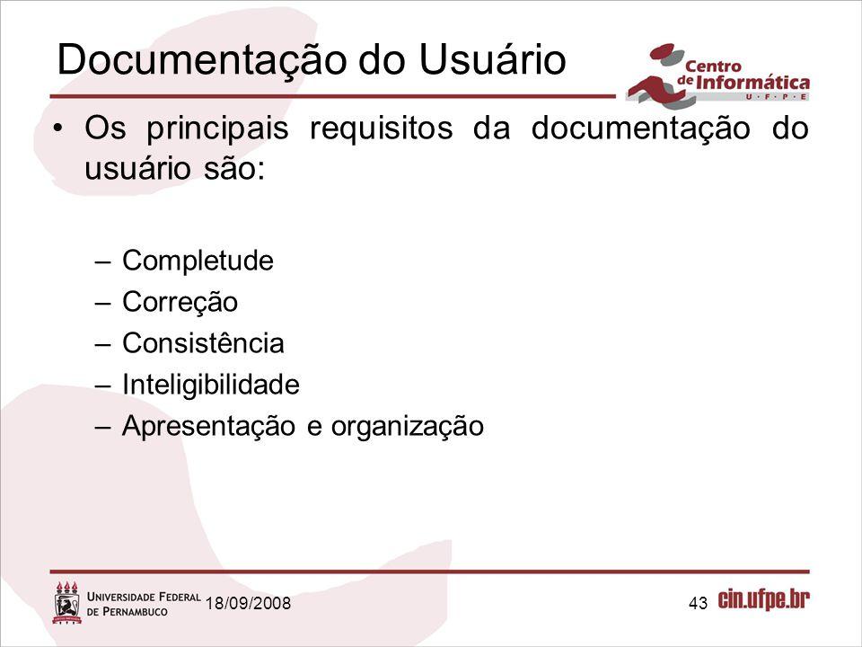 Documentação do Usuário