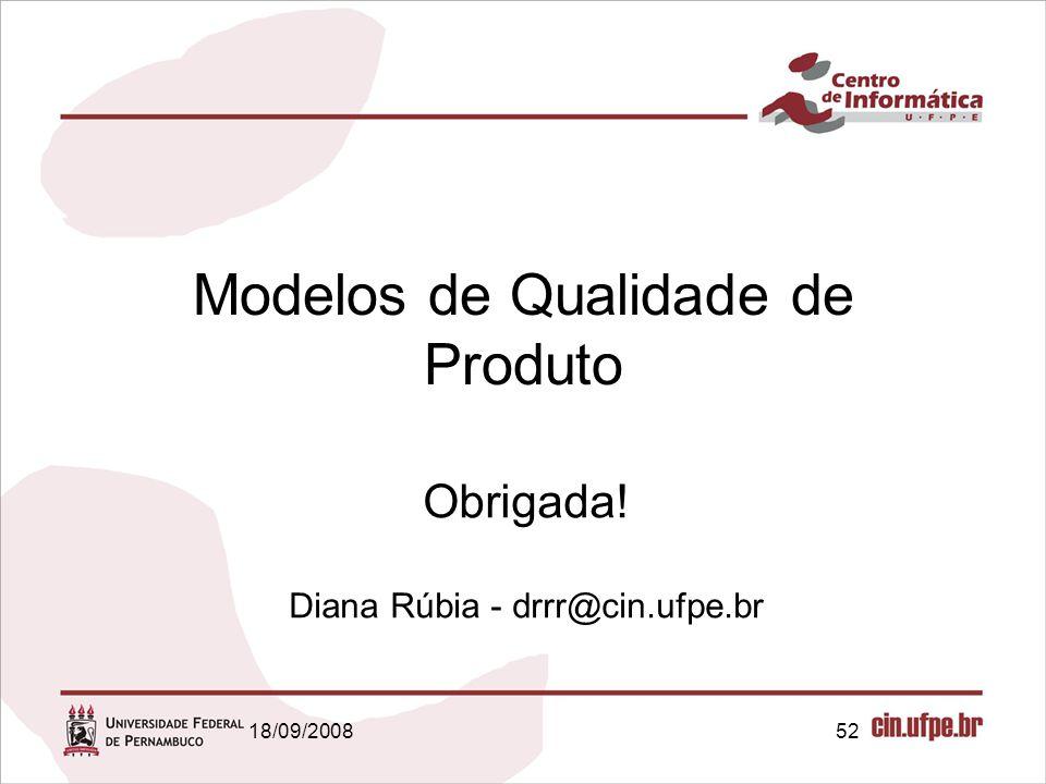 Modelos de Qualidade de Produto