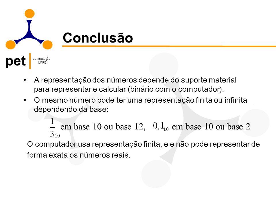 Conclusão em base 10 ou base 12, em base 10 ou base 2