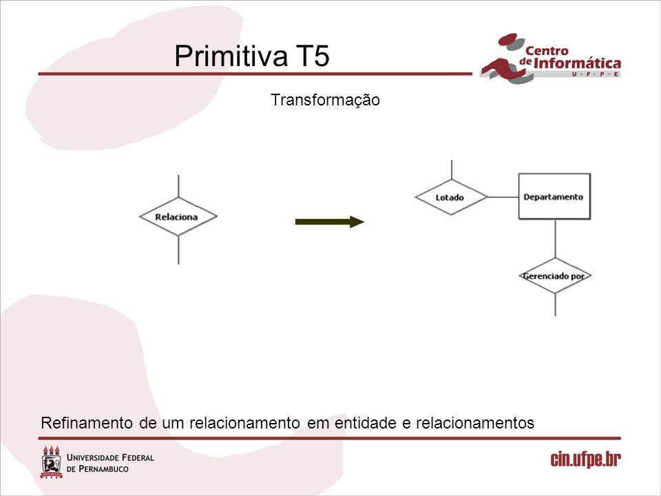 Primitiva T5 Transformação