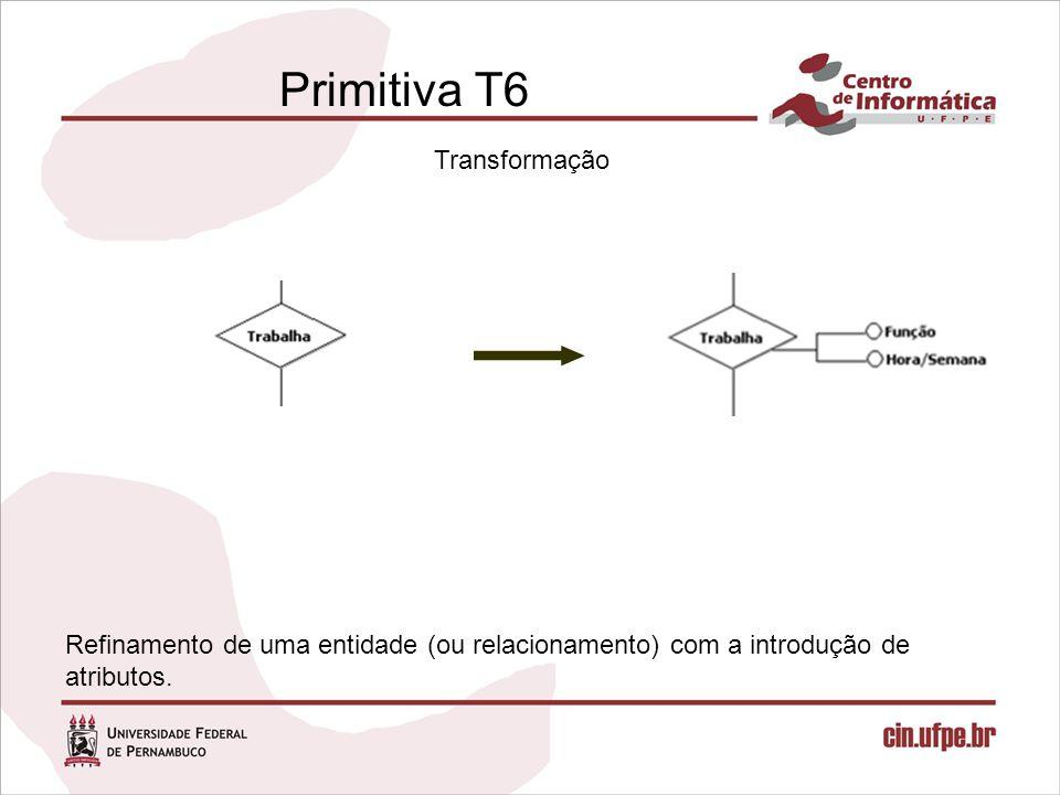 Primitiva T6 Transformação