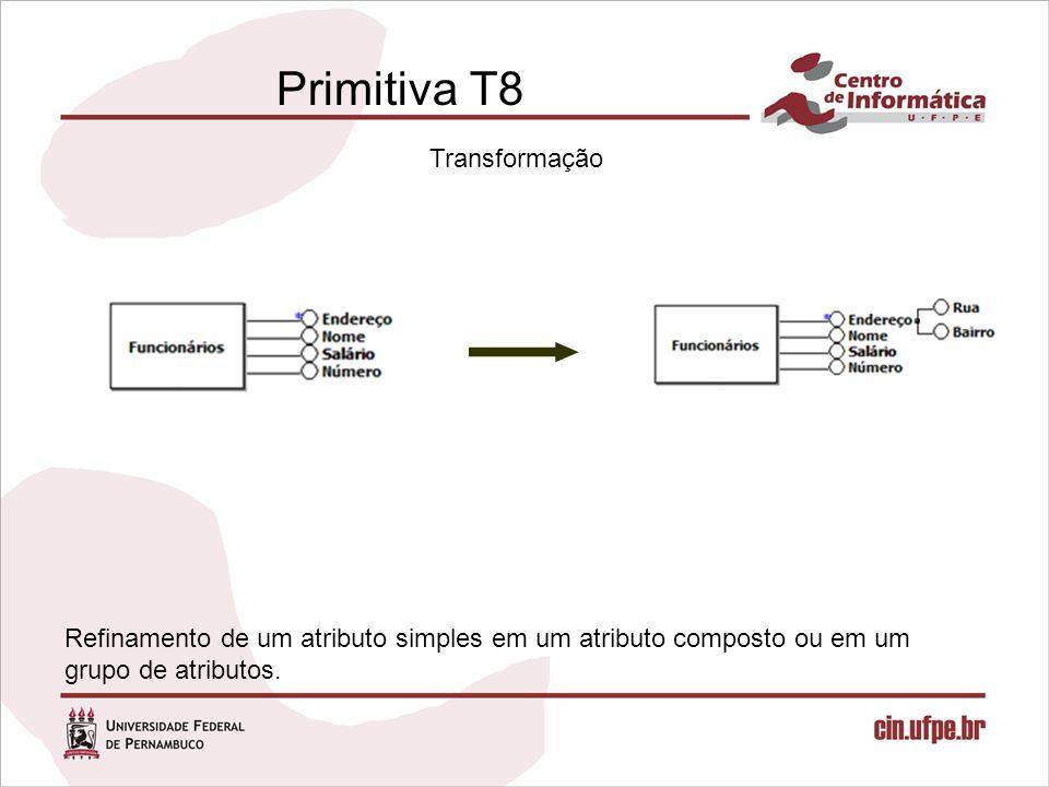 Primitiva T8 Transformação