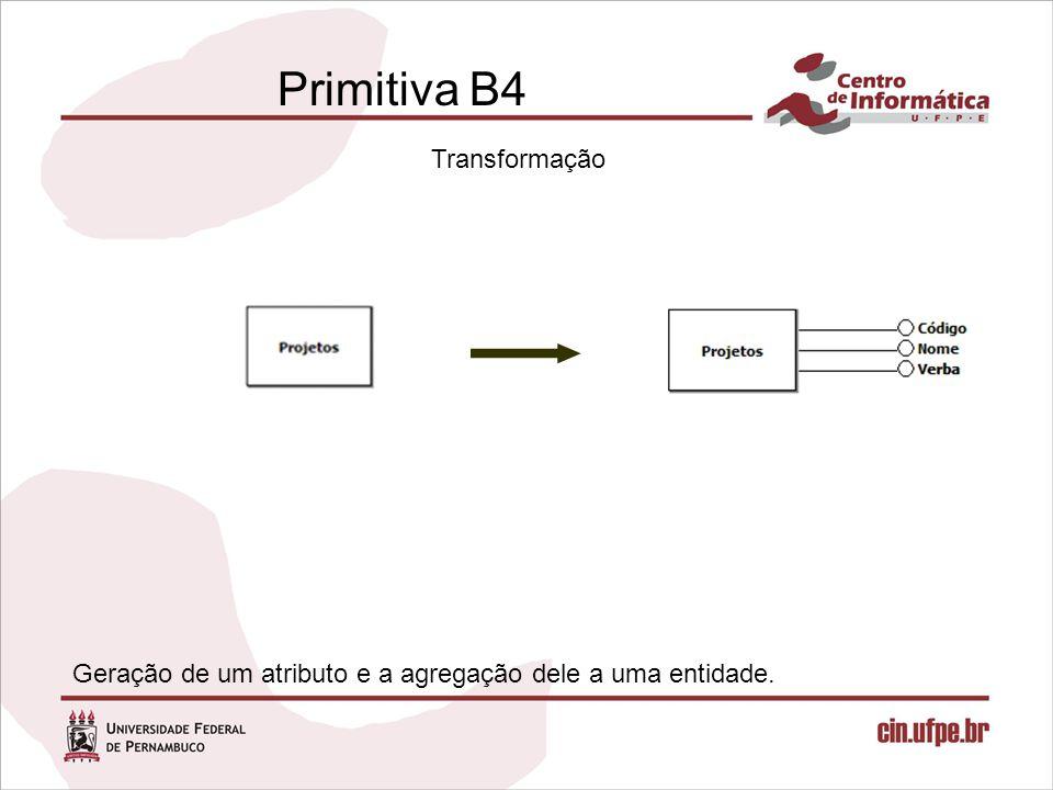 Primitiva B4 Transformação