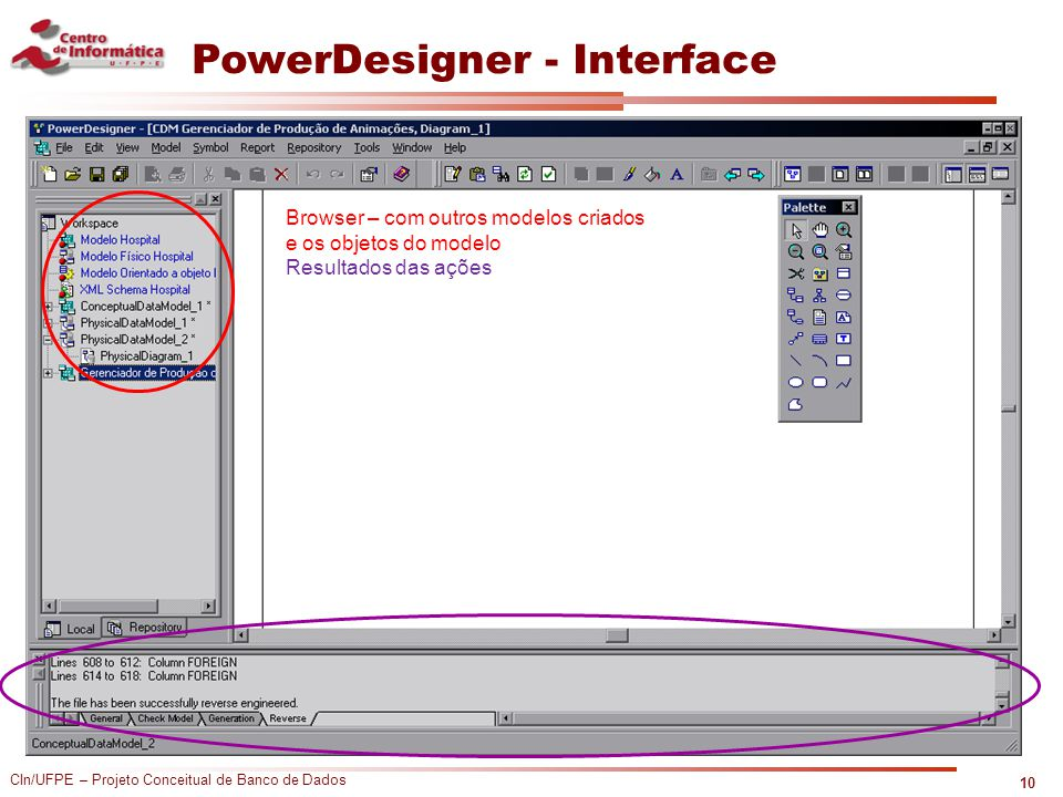 PowerDesigner - Interface