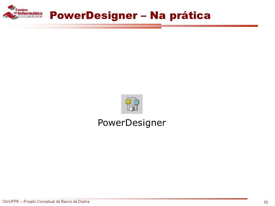 PowerDesigner – Na prática