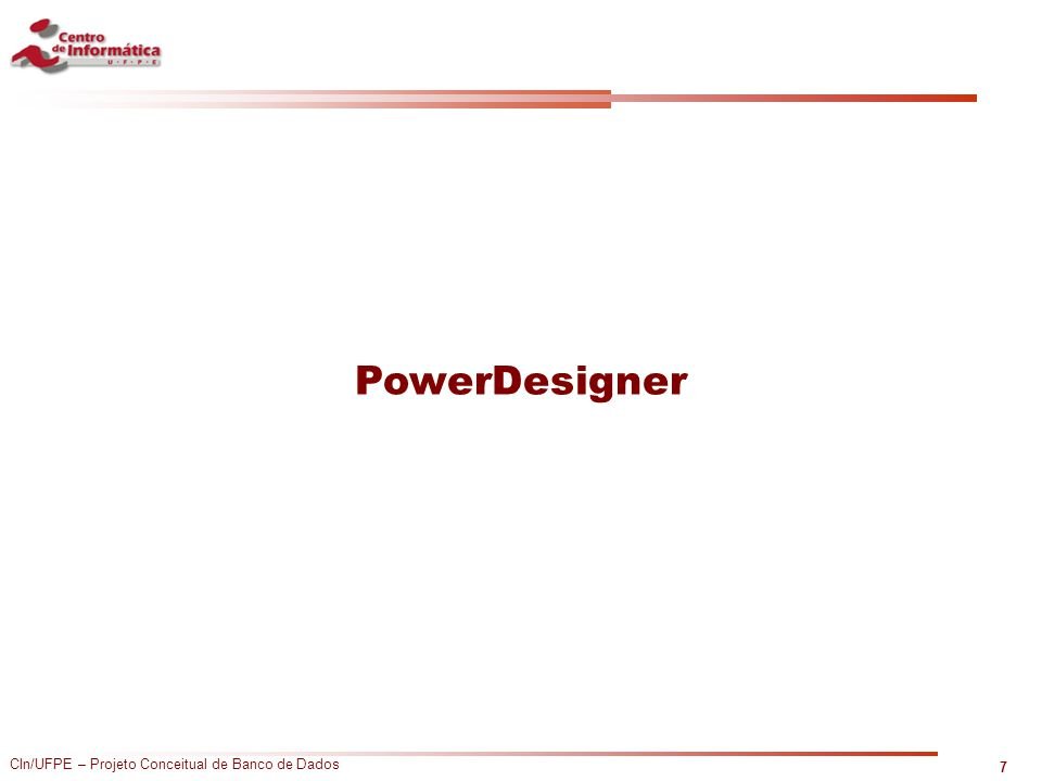 PowerDesigner 7