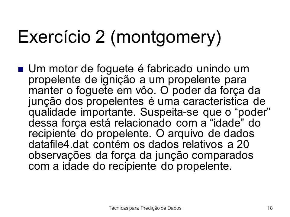 Exercício 2 (montgomery)